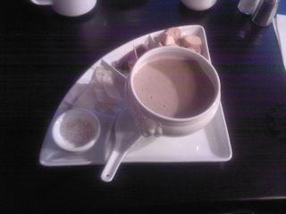 Soupe aux cèpes, Le Gaspacho, Avenue Malausséna, Nice